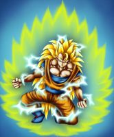 Super Saiyan 3 by Alise-arts