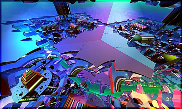 Paradigmatic Multi-planes Vision by DorianoArt