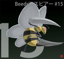 015 Beedrill by gillpanda