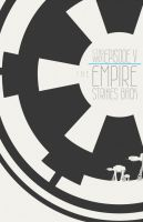 Minimalist style The Empire Strikes Back by stuckart