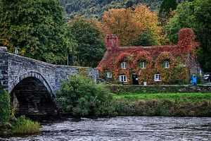 Trefriw famous shop by CharmingPhotography