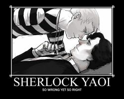 Sherlock Yaoi by Like-A-British-Guy