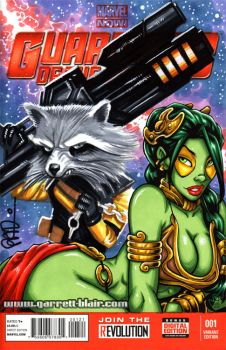 ECCC '14 Sketch Cover Tag Commission #4 by gb2k
