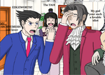 Nicoverse: Edgeworth! My Archnemesis by AnonEars