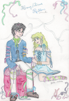 Harry+Luna - Ribbons by ladysugarquill
