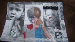 Art Project .:Child Abuse:. by inueriekags
