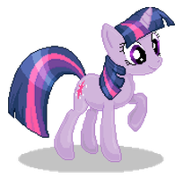 Twilight Pixel Art by skullnuku