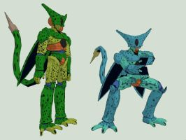 [MMD DOWNLOAD] Cell Firs Form [DBZ] by M0fD