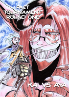 :MH: Pact Tournament: Round 1 Cover by Fly-Sky-High