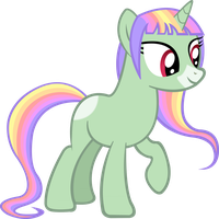 Mentina (Request for LeviosaRose) by PonyEngineer