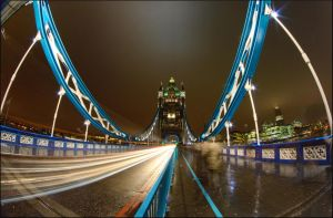 Ghosts of the Tower Bridge by NikolaiMalykh
