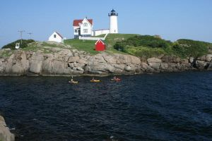 Nubble Point Lighthouse by Maeve09