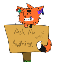 Ask Kitty Questions! by AnamayCat