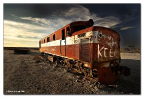 Marree Train by ldo