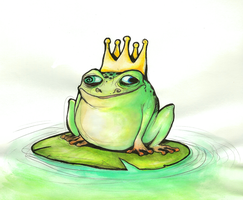 Frog Prince by bliss-chan