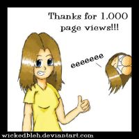 1,000 page views by Helonzyz