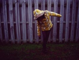 yellow peacoat by twinphotography