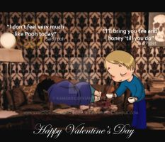 Johnlock: Happy Valentine's day 2015 by KamiDiox