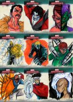 marvel Sketch cards 3 by Julianlytle