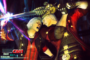Devil may cry 4 by Garcho