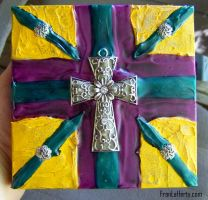 Finished Four Corner Cross by mirroreyes1