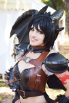 Toothless - How To Train Your Dragon  cosplay by KICKAcosplay