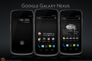 Google Galaxy Nexus by yuyudroid