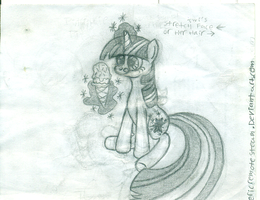 WIP: First Twilight Sparkle drawing by ericremotesteam