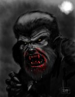 The Wolf Man by ArtNomad