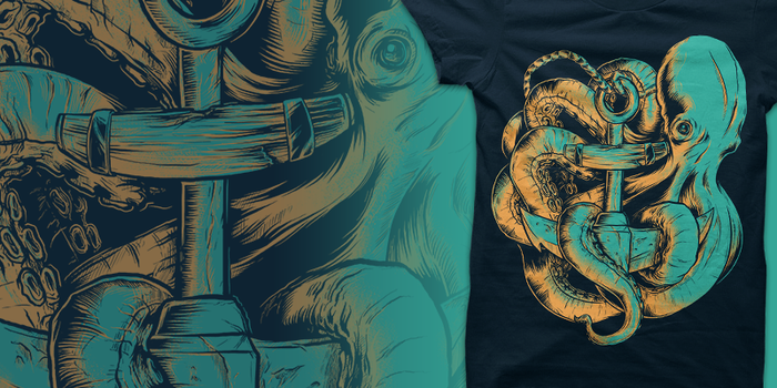 Aquatic Aid Shirt for Seventh.Ink by seventhfury