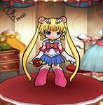 Sailor Moon Arme - Grand Chase by GustavoReiPanda