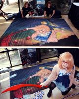 Beyond the Boundary with Artists and Cosplayer by ChalkTwins