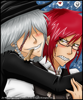 - Grell and Undertaker - by Isi-Daddy