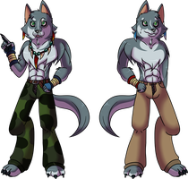 Wolf and Danny: Were-Forms by Atlanta-Hammy