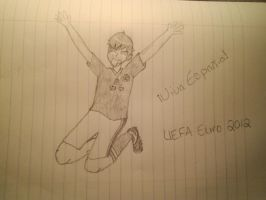 Potugal vs. Spain EURO UEFA 2012 by Russialover174