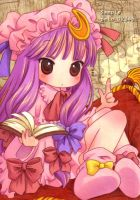Patchouli Knowledge,Touhou by peloli