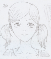 Girl with Pigtails (Ofelia) by CloudRider99