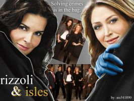 Rizzoli and Isles by ais541890