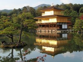 Kinkaku-ji Temple 01, Kyoto, Japan by mac-chipsie