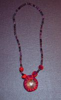 Pink and Purple Necklace by MollyD
