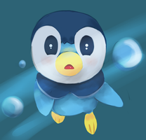 Piplup by WhimsicalMachines