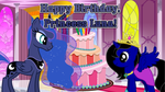 Happy Birthday, Princess Luna! by iamnater1225