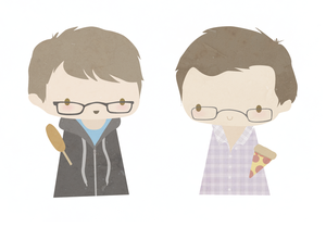 Hank and John Green by NaomiFuller