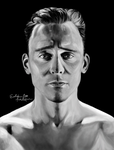 Tom Hiddleston by EvelinaLindqvist