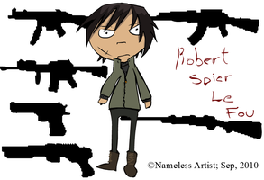 Robert Spier Le Fou by A-Nameless-Wolf