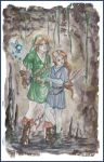 Link and Serenity by the-infamous-padfoot