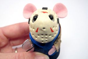 Jason Voorhees Mouse Closeup 2 by The-House-of-Mouse