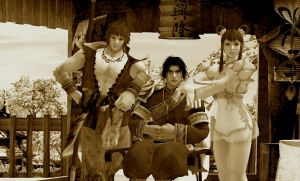 The Master and his Successors (Sepia Version) by Stylistic86