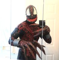 SPIDER-CARNAGE COMPLETE COSTUME by symbiote-x