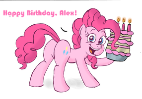 Pinkie Pie Prime Cake by ScoBionicle99